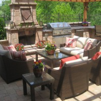 Photo Thumbnail #1: We love relaxing in the outdoor living area and...