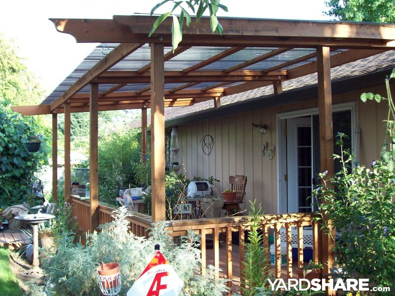 Landscaping Ideas Gt Deck Amp Awning Build Yardshare Com
