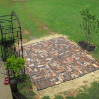 Photo Thumbnail #14: THIS PAVER PATIO TURNED OUT QUITE WELL , I USED...