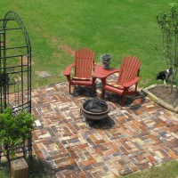 Photo Thumbnail #18: NEW PATIO WITH FIRE BOWL AND CHAIRS
