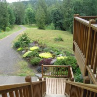 Photo Thumbnail #9: Front yard view of property from upper deck