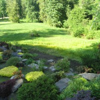 Photo Thumbnail #10: Front yard view of property of landscape