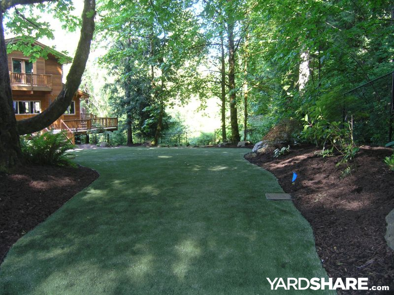 Forest Backyard Ideas : Landscaping Ideas > Woodland Wonderland  YardSharecom