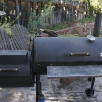 Photo Thumbnail #1: The original unmodified smoker