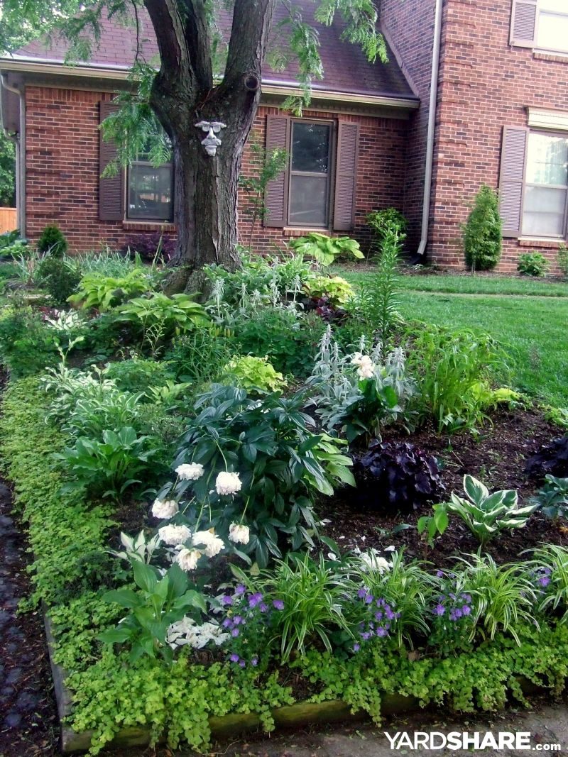 Landscaping ideas shade garden for Garden ideas and designs photos