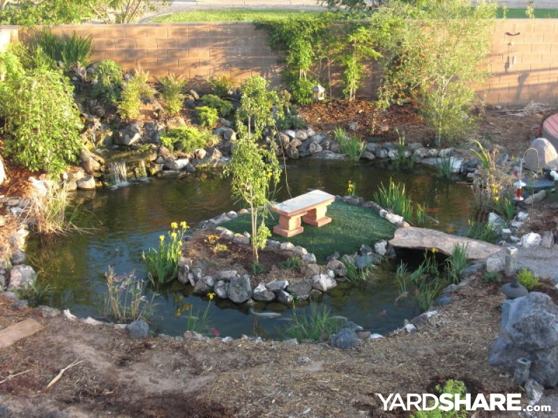 Landscaping ideas asian japanese garden for Japanese garden pond design