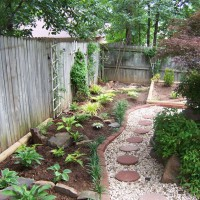 Photo Thumbnail #10: This is the new garden that was created along...