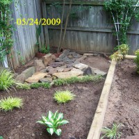 Photo Thumbnail #8: I decided to create a dry bed area where the...