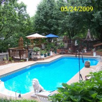 Photo Thumbnail #12: This is the view of the pool with the new...