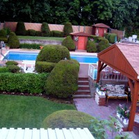 Photo Thumbnail #1: Overview of yard from second floor deck