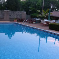 Photo Thumbnail #4: View of pool from left side