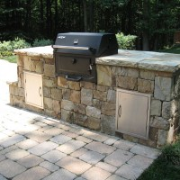 Photo Thumbnail #4: Grilling station near house.  Paver patio...