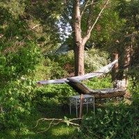 Photo Thumbnail #6: Second area with an hammock nestled in between...