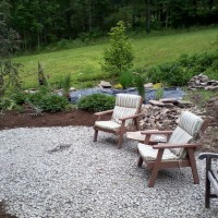 Photo Thumbnail #11: Before shot of our flagstone patio.