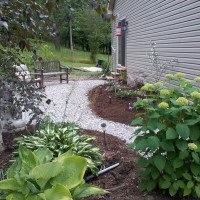 Photo Thumbnail #14: During shot of patio DIY project.