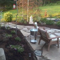 Photo Thumbnail #12: After shot of flagstone patio.