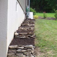 Photo Thumbnail #26: Our latest project, terraced wall for peonies....