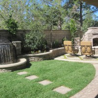Photo Thumbnail #3: The custom water feature with a minimal about...