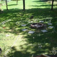 Photo Thumbnail #8: Before Picture, with mark up plans...