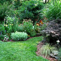Photo Thumbnail #6: Right side flower garden