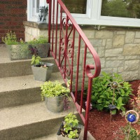 Photo Thumbnail #12: Planters on the front porch and the hydrangea...