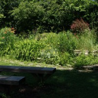 Photo Thumbnail #18: Looking toward the garden from the outdoor...