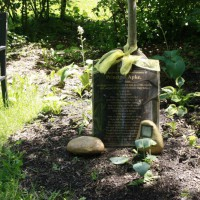 Photo Thumbnail #16: This is the memorial for our former principal,...