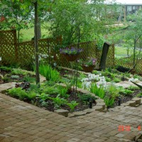 Photo Thumbnail #10: View of shade garden from deck