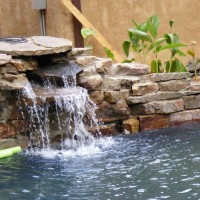 Photo Thumbnail #4: The waterfall works!