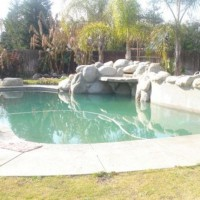 Photo Thumbnail #2: Pool with rock water fall