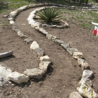 Photo Thumbnail #7: New path to the upper yard.