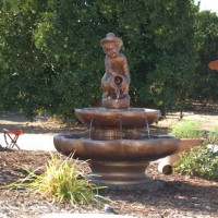 Photo Thumbnail #11: Some friends gave us this fountain.  It was...