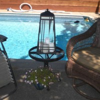 Photo Thumbnail #1: This is my outdoor living room next to the pool