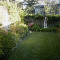Photo Thumbnail #5: 1/2 the back yard:  English style mixed...