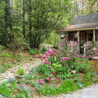 Photo Thumbnail #4: My potting shed is a child\'s playouse that we...