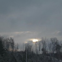 Photo Thumbnail #3: View of the sky after it snowed from by front door