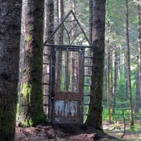 Photo Thumbnail #1: Welcome to our forest!  This is the front side...