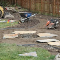 Photo Thumbnail #6: beginnings of firepit