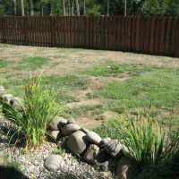 Photo Thumbnail #4: backyard before