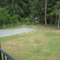 Photo Thumbnail #2: Backyard view from balcony looking east before...