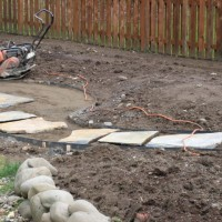 Photo Thumbnail #7: flagstone path to firepit