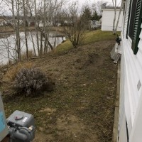 Photo Thumbnail #8: View Of Back Yard From Left Side of Trailer