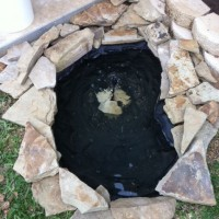 Photo Thumbnail #9: Finally got some flagstone left over from a...