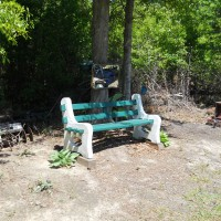 Photo Thumbnail #1: Sitting area behind my shed