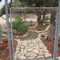 Photo Thumbnail #9: This gate was already here, just a gate and...