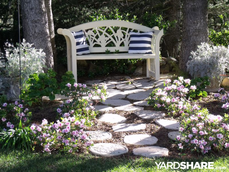 Landscaping ideas tustin house backyard for Shady backyard landscaping ideas