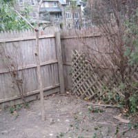 Photo Thumbnail #21: BEFORE: this old fence