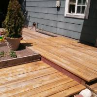 Photo Thumbnail #22: back deck after but before refinishing