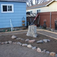 Photo Thumbnail #8: Instead of grinding out the stump of a long...