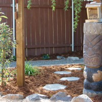 Photo Thumbnail #14: The original patio that came with the house was...